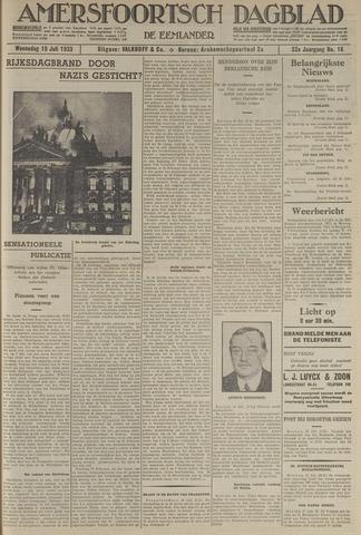 Amersfoortsch Dagblad / De Eemlander 1933-07-19