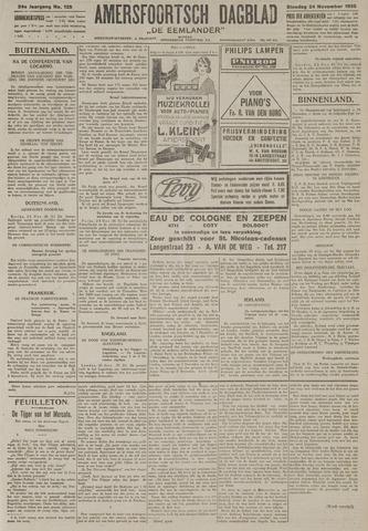 Amersfoortsch Dagblad / De Eemlander 1925-11-24