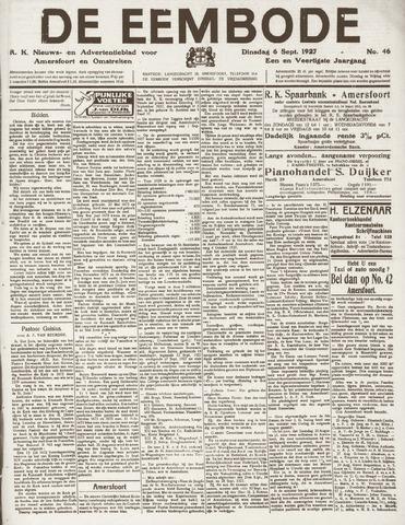 De Eembode 1927-09-06