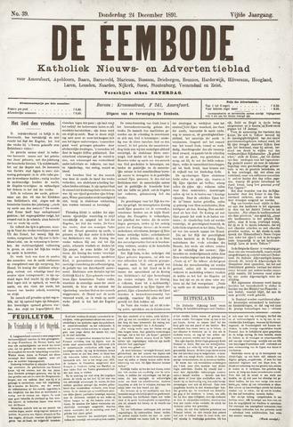 De Eembode 1891-12-26