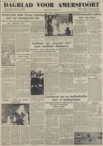 Dagblad voor Amersfoort 1949-02-07