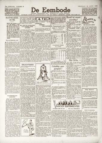 De Eembode 1939-06-30