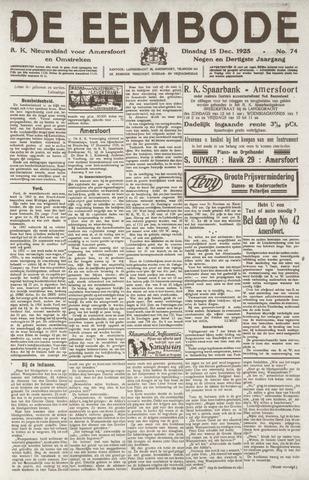 De Eembode 1925-12-15