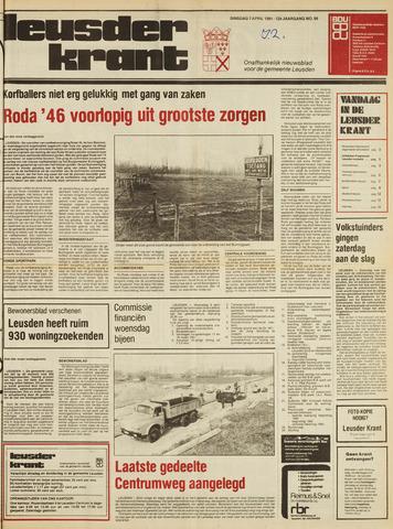 Leusder Krant 1981-04-07
