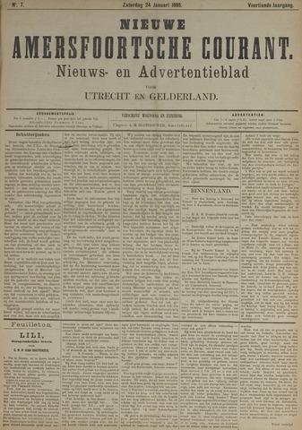 Nieuwe Amersfoortsche Courant 1885-01-24