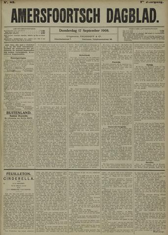 Amersfoortsch Dagblad 1908-09-17