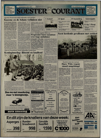 Soester Courant 1992-05-06