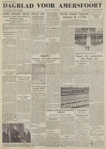 Dagblad voor Amersfoort 1948-04-14