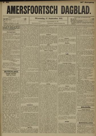 Amersfoortsch Dagblad 1911-09-27