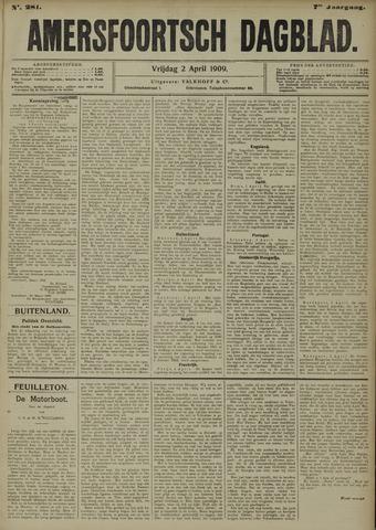 Amersfoortsch Dagblad 1909-04-02