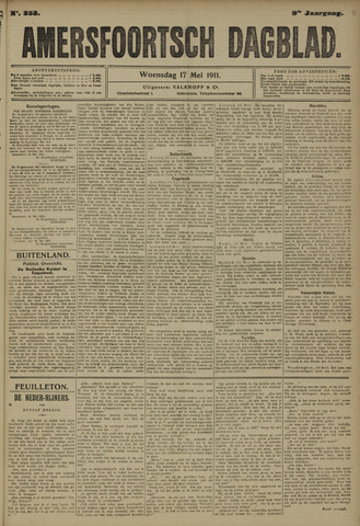 Amersfoortsch Dagblad 1911-05-17