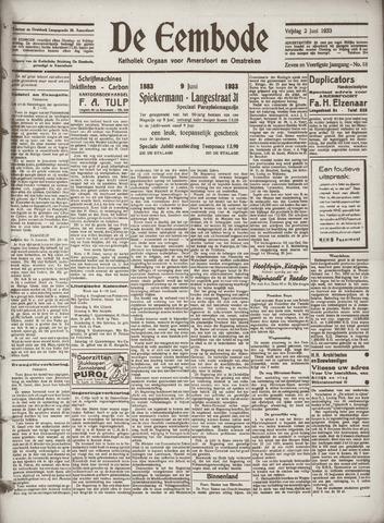De Eembode 1933-06-02
