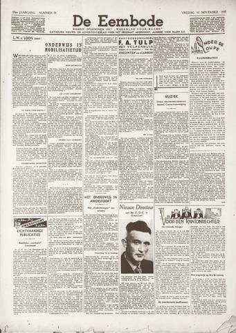 De Eembode 1939-11-10