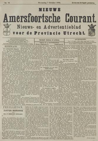 Nieuwe Amersfoortsche Courant 1908-10-07