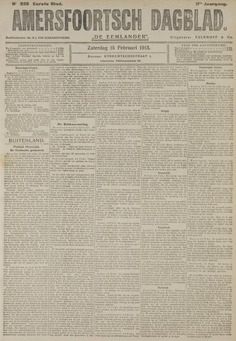 Amersfoortsch Dagblad / De Eemlander 1913-02-15