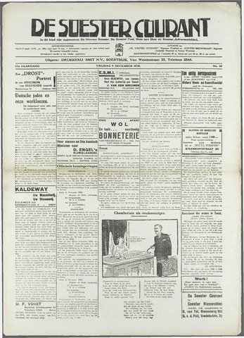 Soester Courant 1938-12-09