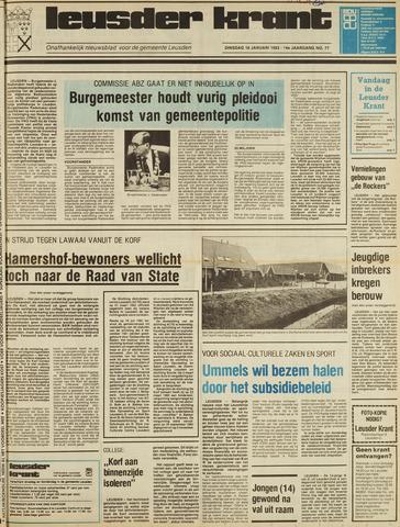 Leusder Krant 1983-01-18