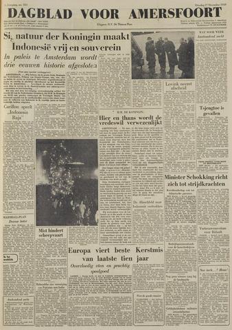 Dagblad voor Amersfoort 1949-12-27