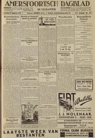 Amersfoortsch Dagblad / De Eemlander 1932-08-27