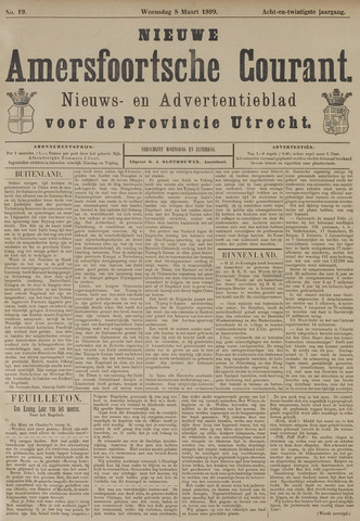 Nieuwe Amersfoortsche Courant 1899-03-08