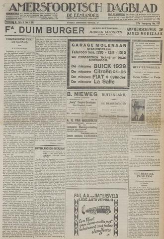 Amersfoortsch Dagblad / De Eemlander 1928-11-03