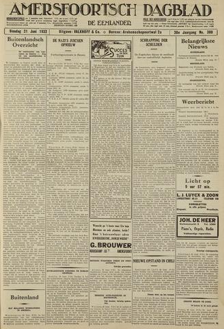 Amersfoortsch Dagblad / De Eemlander 1932-06-21