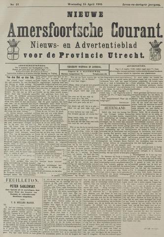 Nieuwe Amersfoortsche Courant 1908-04-15