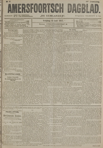 Amersfoortsch Dagblad / De Eemlander 1917-07-13