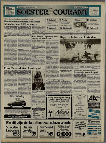 Soester Courant 1992-01-29