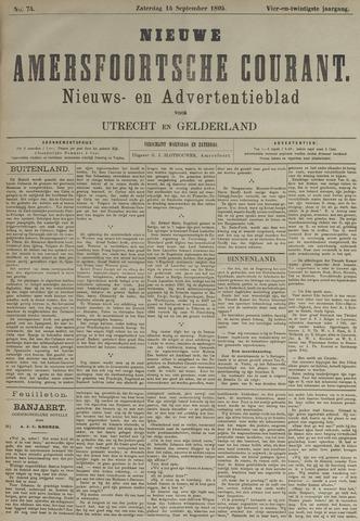 Nieuwe Amersfoortsche Courant 1895-09-14