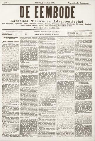 De Eembode 1905-05-13