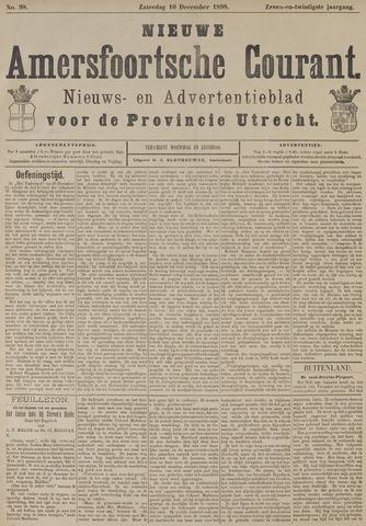 Nieuwe Amersfoortsche Courant 1898-12-10