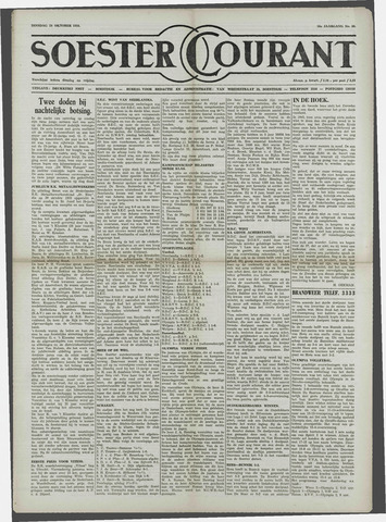 Soester Courant 1958-10-28