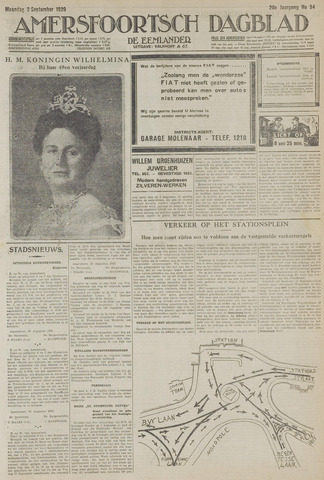 Amersfoortsch Dagblad / De Eemlander 1929-09-02