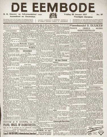 De Eembode 1927-01-28