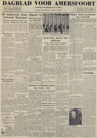 Dagblad voor Amersfoort 1947-12-15