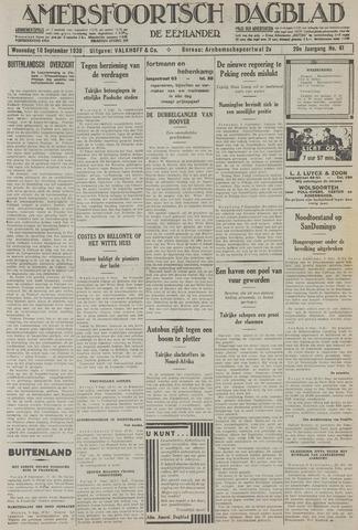 Amersfoortsch Dagblad / De Eemlander 1930-09-10
