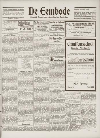 De Eembode 1933-09-26