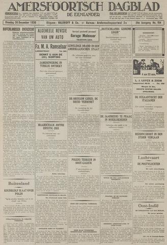 Amersfoortsch Dagblad / De Eemlander 1930-12-30
