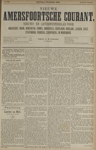 Nieuwe Amersfoortsche Courant 1884-11-08
