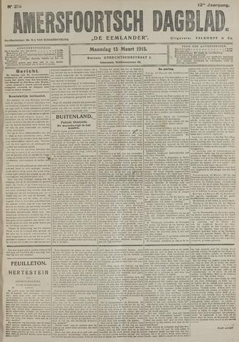 Amersfoortsch Dagblad / De Eemlander 1915-03-15