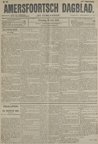 Amersfoortsch Dagblad / De Eemlander 1916-07-18