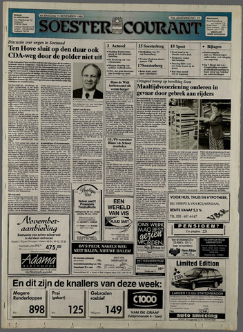 Soester Courant 1995-11-15