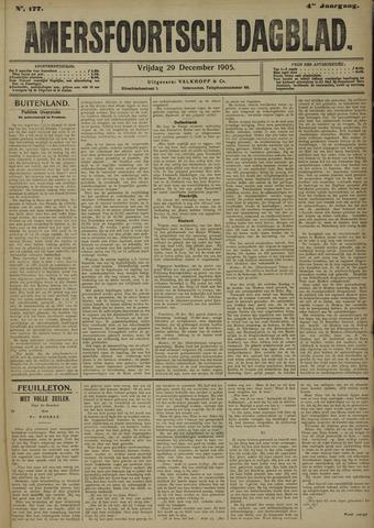 Amersfoortsch Dagblad 1905-12-29