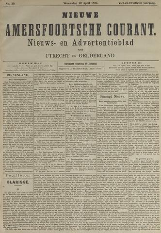 Nieuwe Amersfoortsche Courant 1895-04-10