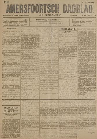 Amersfoortsch Dagblad / De Eemlander 1916-01-06