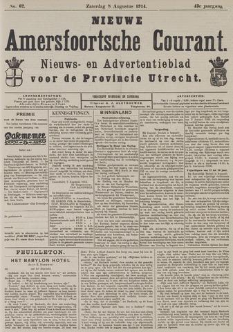 Nieuwe Amersfoortsche Courant 1914-08-08