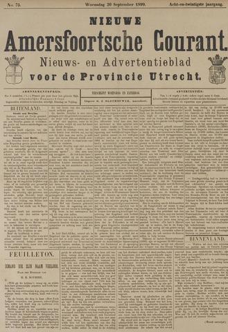 Nieuwe Amersfoortsche Courant 1899-09-20