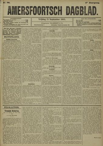 Amersfoortsch Dagblad 1905-09-15