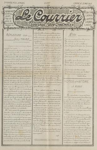 Le Courrier 1918-05-12